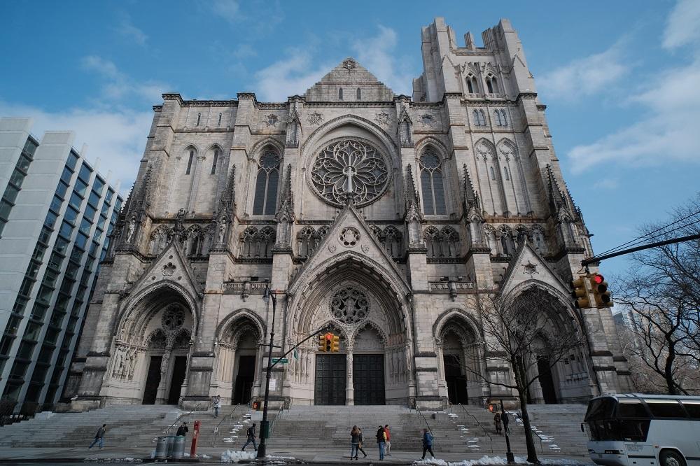 未完成的聖約翰/聖約翰神明座堂/紐約/絕美教堂
