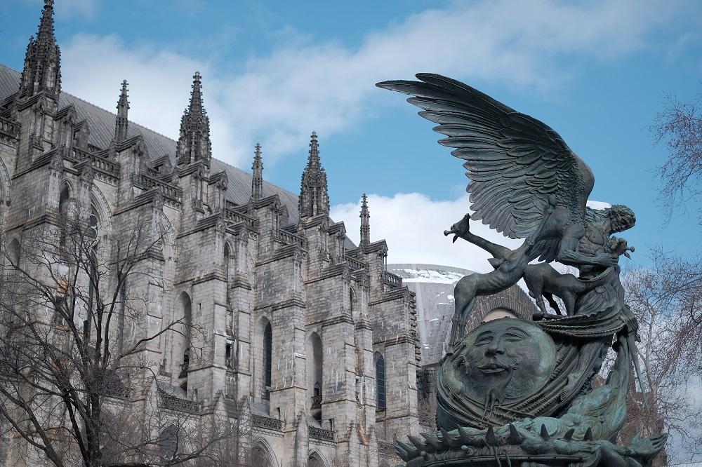 未完成的聖約翰/聖約翰神明座堂/紐約/絕美教堂/城堡/魔幻