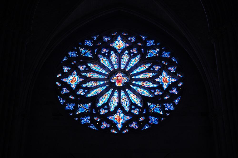 未完成的聖約翰/聖約翰神明座堂/紐約/絕美教堂/玫瑰窗/花窗