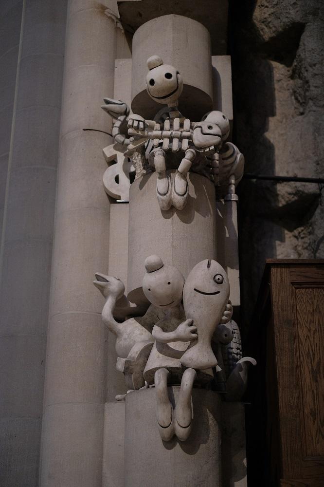 未完成的聖約翰/聖約翰神明座堂/紐約/絕美教堂/雕像/小天使