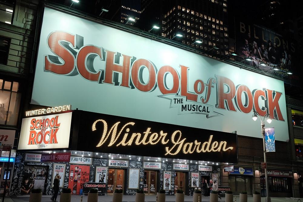 搖滾教室/百老匯/百老匯熱門戲碼/舞台劇/紐約