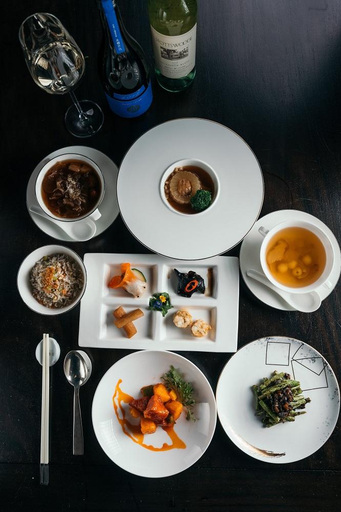 台北米其林蔬食/台北文華東方酒店/雅閣