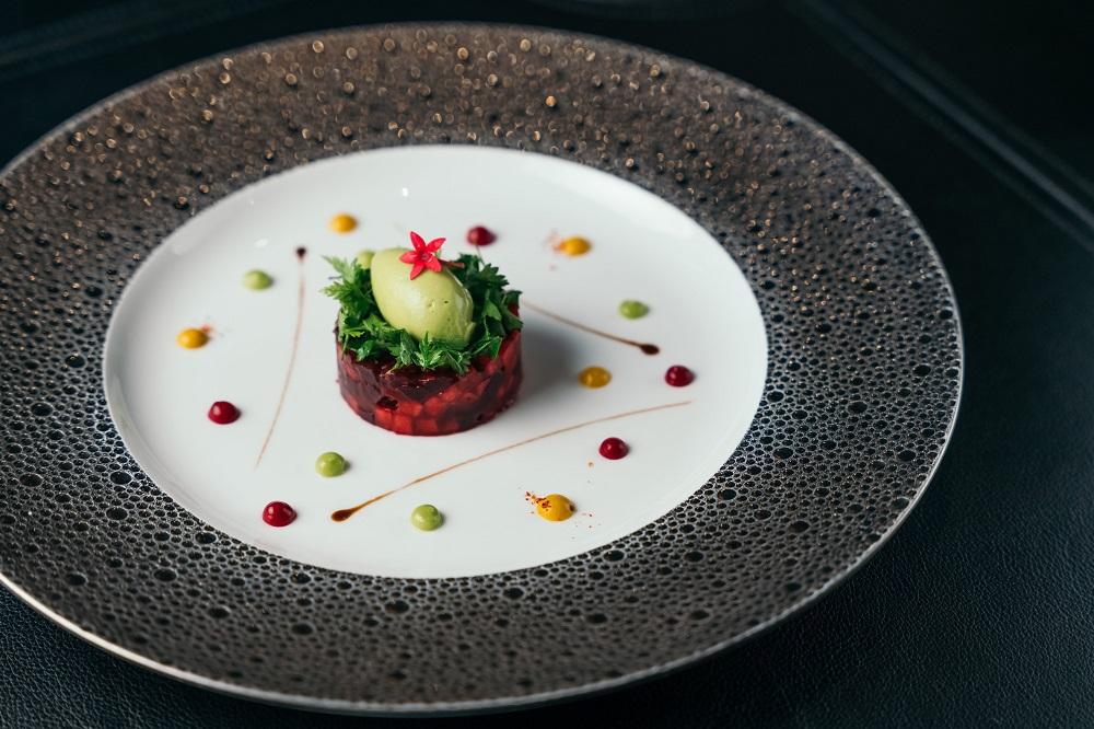 台北米其林蔬食/LA BETTERAVE/台北侯布雄法式餐廳