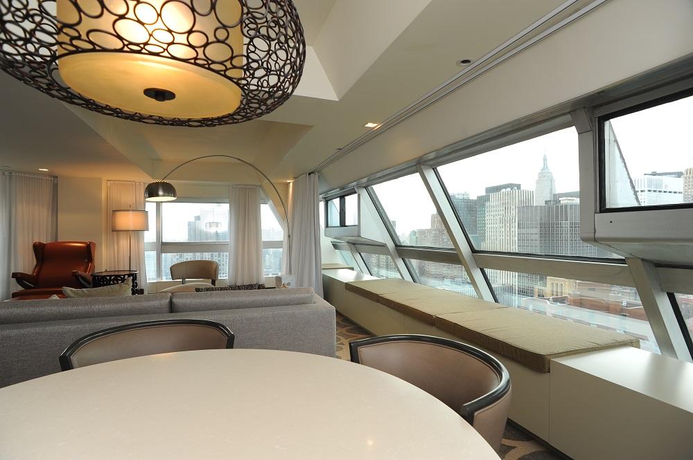 紐約第一聯合廣場希爾頓千禧飯店/聯合國大樓/客房
