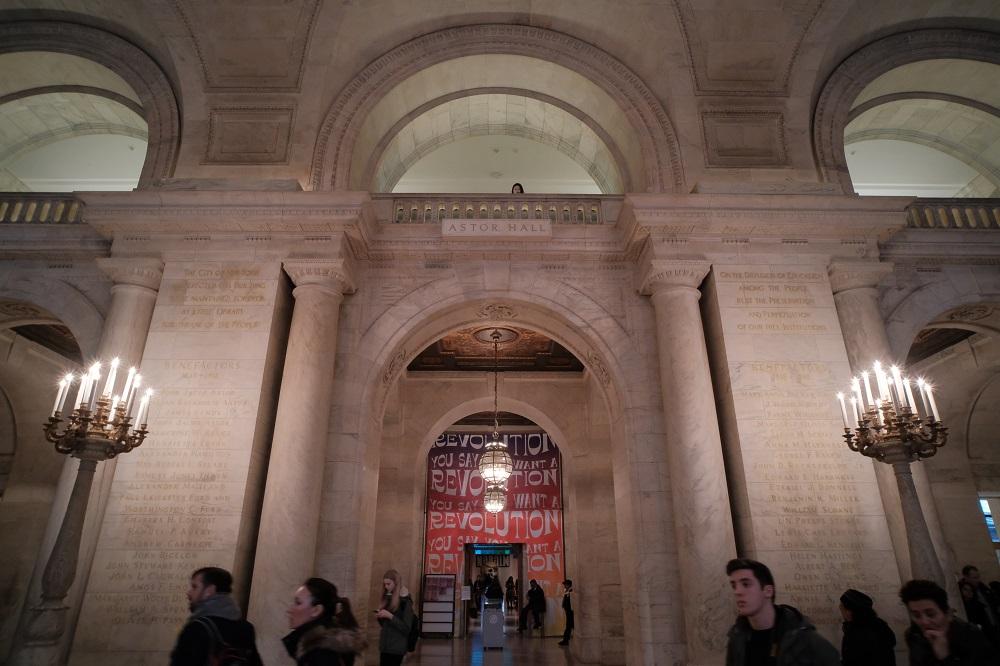 紐約/曼哈頓/紐約公共圖書館/絕美圖書館/亞斯特廳