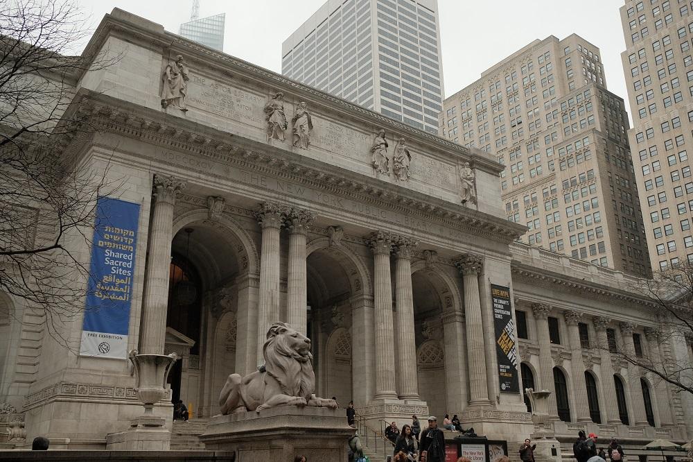 紐約/曼哈頓/紐約公共圖書館/絕美圖書館