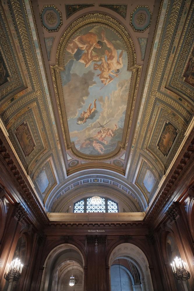 紐約/曼哈頓/紐約公共圖書館/絕美圖書館/麥格勞圓形大廳