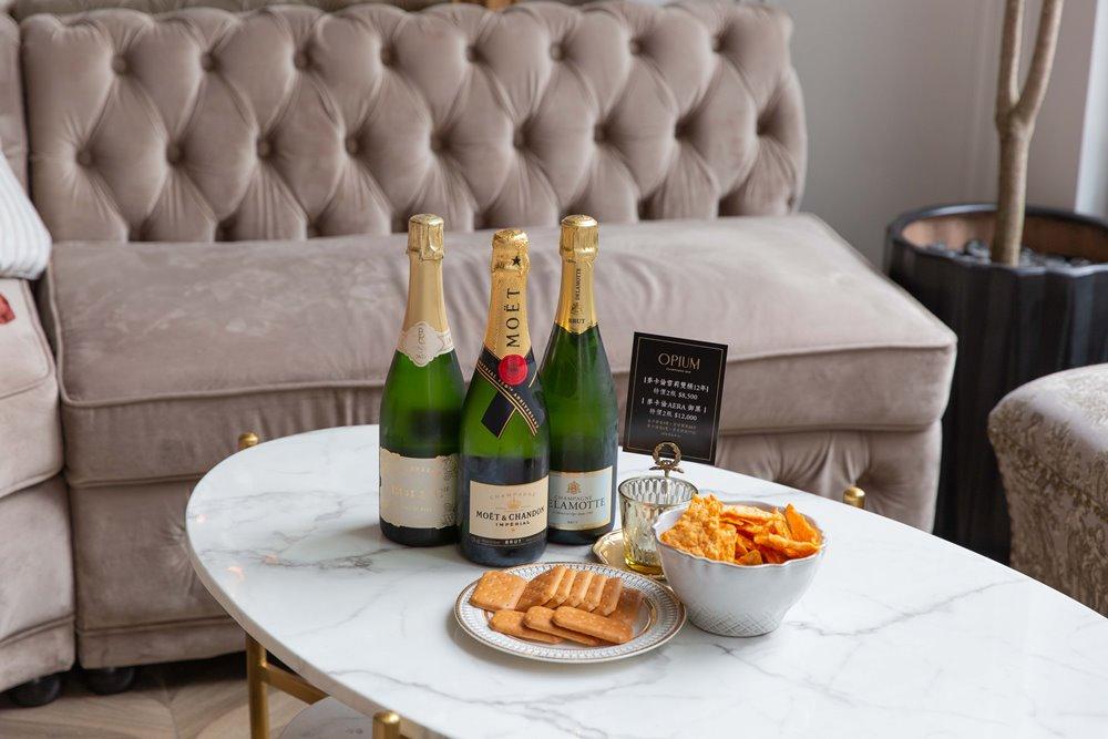 OPIUM Champagne Bar/香檳/酒吧/女性/信義區/台北