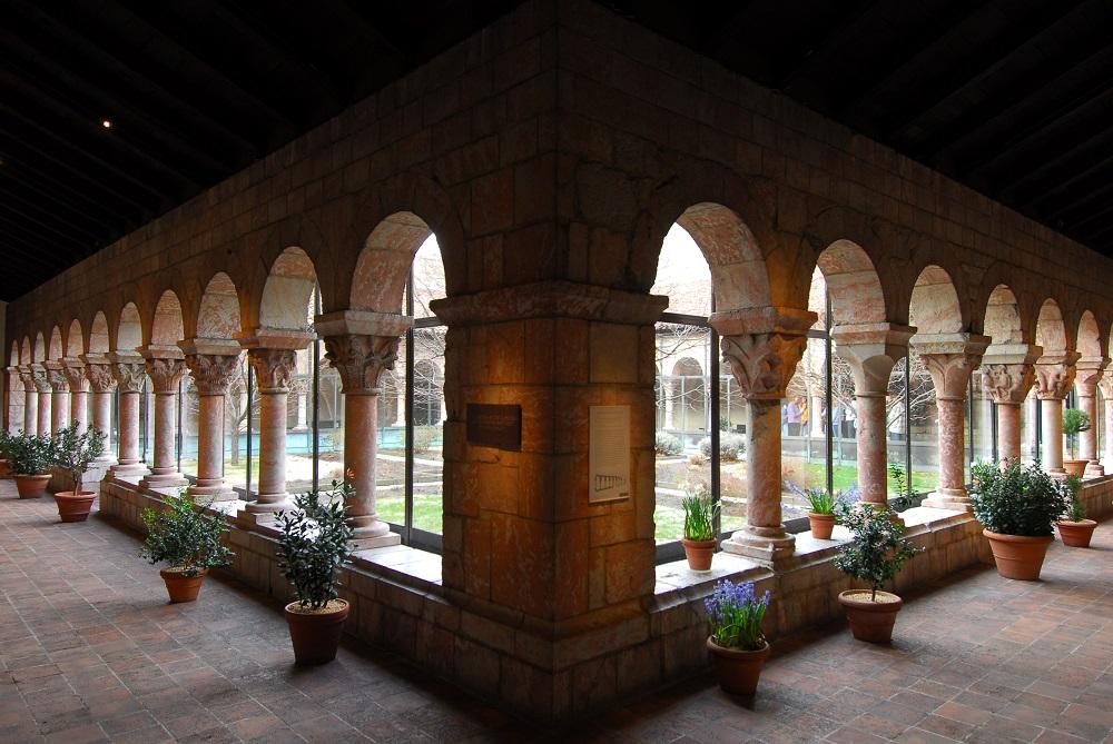 紐約/曼哈頓/修道院美術館/歐洲古文物/庫沙中庭