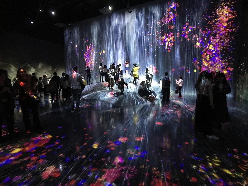 日本/東京/teamLab數位藝術美術館