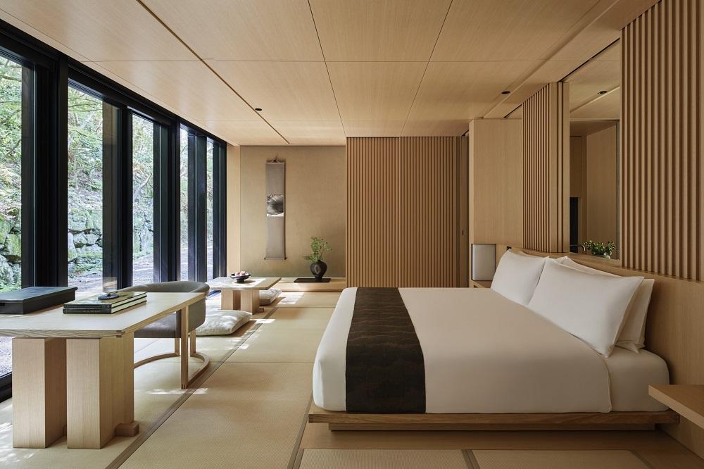 Aman Kyoto/京都/套房/原木石材/私房旅宿