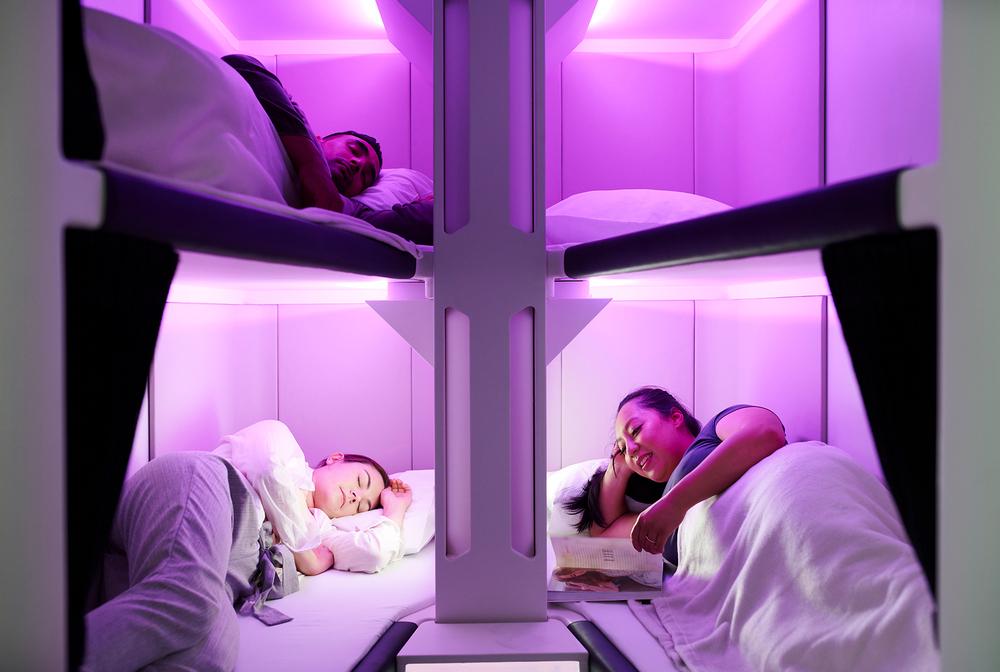 Air New Zealand/Economy Skynest/睡眠膠囊/經濟艙/紐西蘭航空