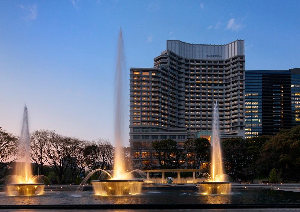 東京/Palace Hotel Tokyo/奧運/健身/水療/噴泉