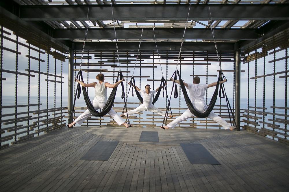 阿麗拉別墅烏魯瓦圖/峇里島/烏魯瓦圖/空中瑜珈