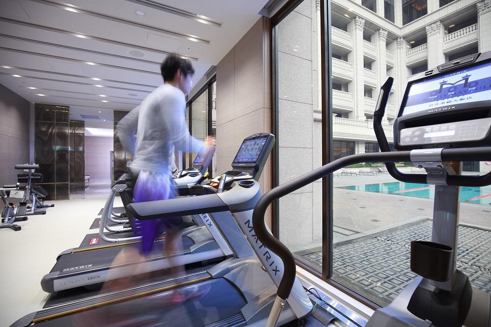 台北美福大飯店/內科新貴Fun輕鬆/內湖科學園區/健身房