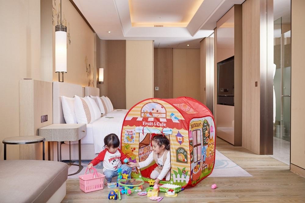 台北美福大飯店/美福四周年旅展/日本樂雅遊戲帳篷玩具組/親子旅遊
