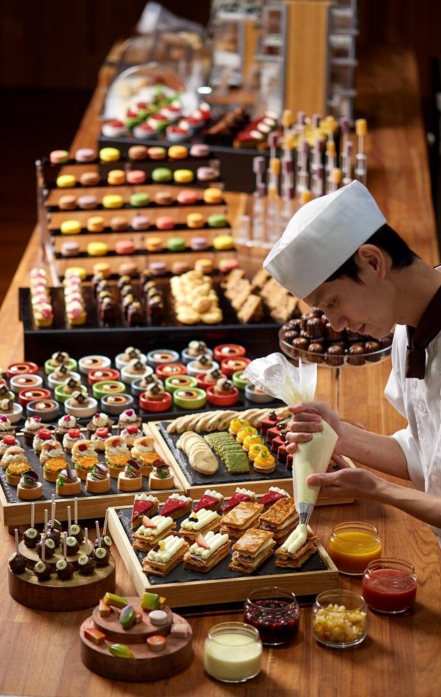 台北美福大飯店/美福四周年旅展/甜點吧/連假住宿優惠