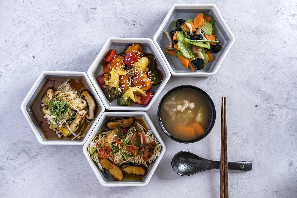 灶神集團/香港/李好純/新派中式素食餐廳/午市套餐