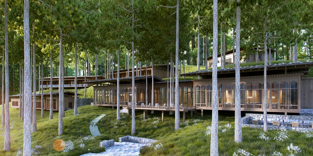 布姆唐六善酒店/森林中的森林/隱逸旅地/不丹