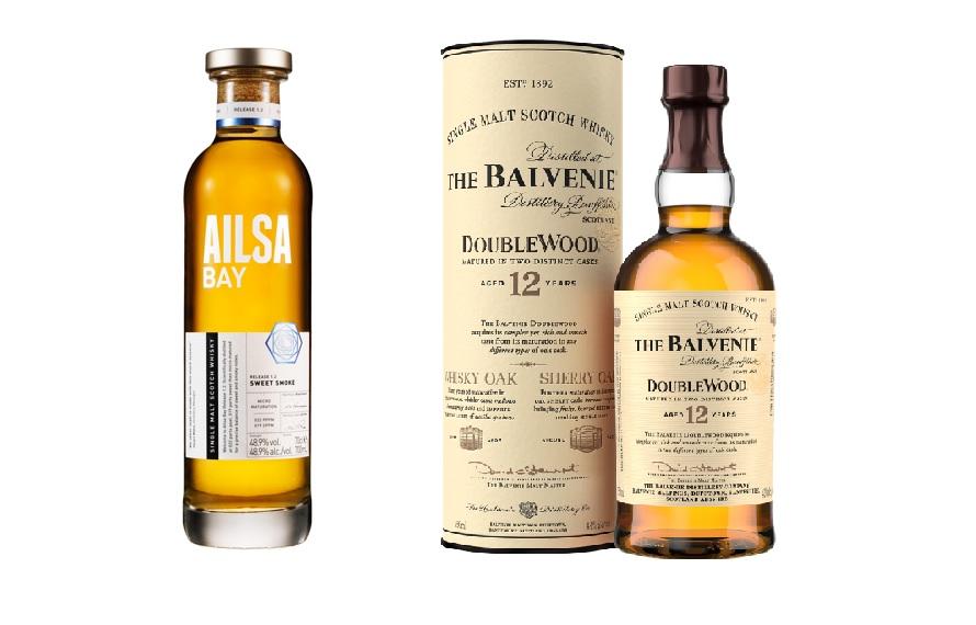 Ailsa Bay 艾沙貝單一麥芽威士忌/The Balvenie百富12年雙桶單一麥芽威士忌