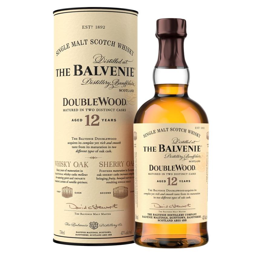 威士忌/格蘭父子/百富12年雙桶單一麥芽威士忌/土象星座