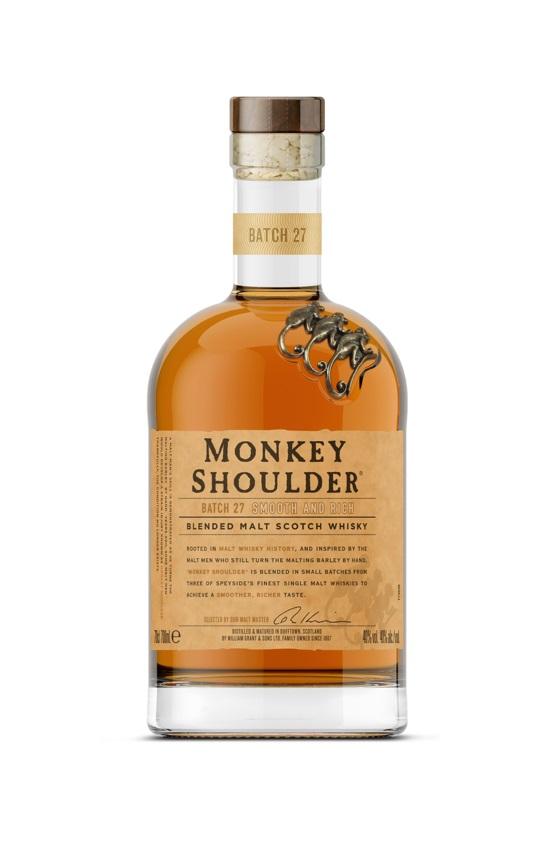 威士忌/格蘭父子/Monkey Shoulder三隻猴子三重麥芽威士忌/風象星座