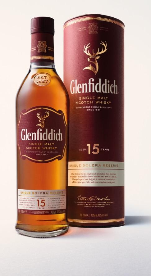 威士忌/格蘭父子/Glenfiddich格蘭菲迪15年單一麥芽威士忌/水象星座