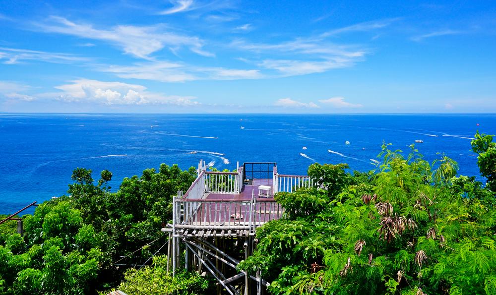 菲律賓/海島渡假/魯厚山/長灘島/蔚藍海水/360度環繞的山海景致