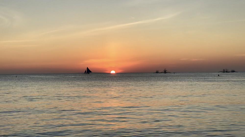 菲律賓/海島渡假/長灘島/夕陽海景/閨密度假