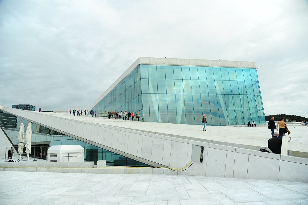 北歐建築/奧斯陸歌劇院/挪威/挪威峽灣/幾何設計/現代化風格