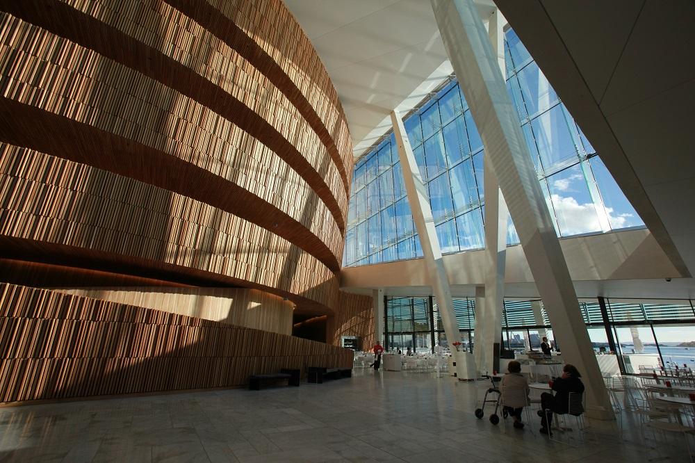 北歐建築/奧斯陸歌劇院/挪威/挪威峽灣/內部