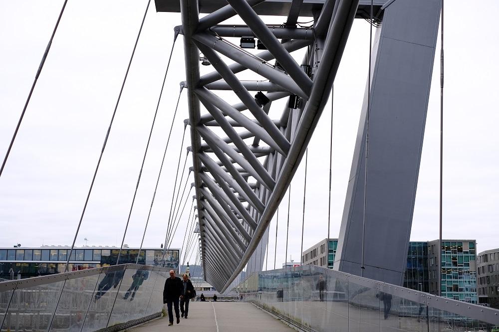 北歐建築/奧斯陸/挪威/現代建築設計/Akrobaten步行橋