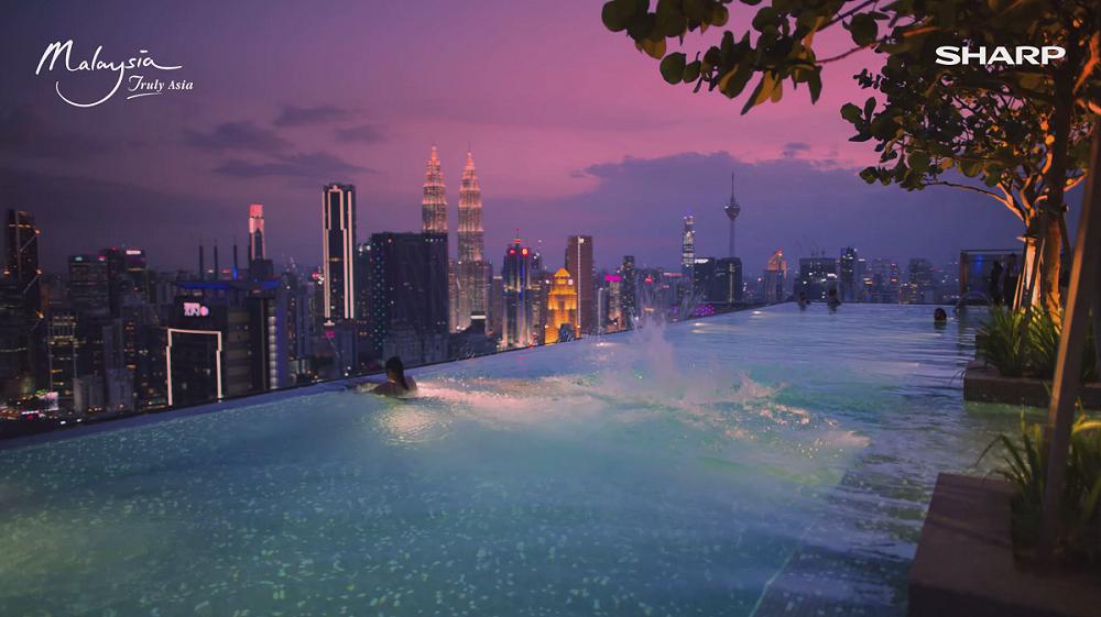 馬來西亞旅遊/SHARP 8K科技/觀光推廣影片/真實的Aquos 8K,馬來西亞-亞洲魅力所在