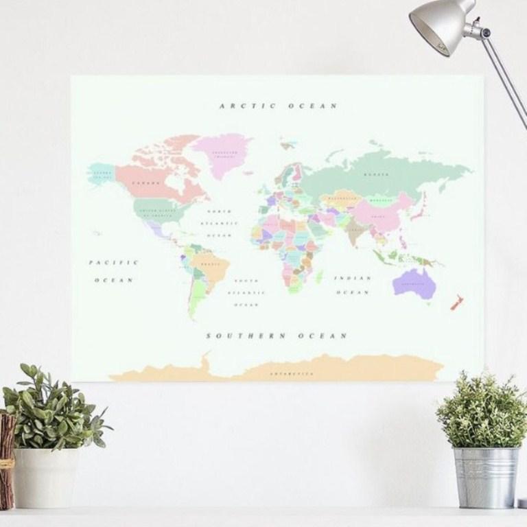 Miss wood 世界經典軟木地圖/瑪黑家居/家具/北歐風