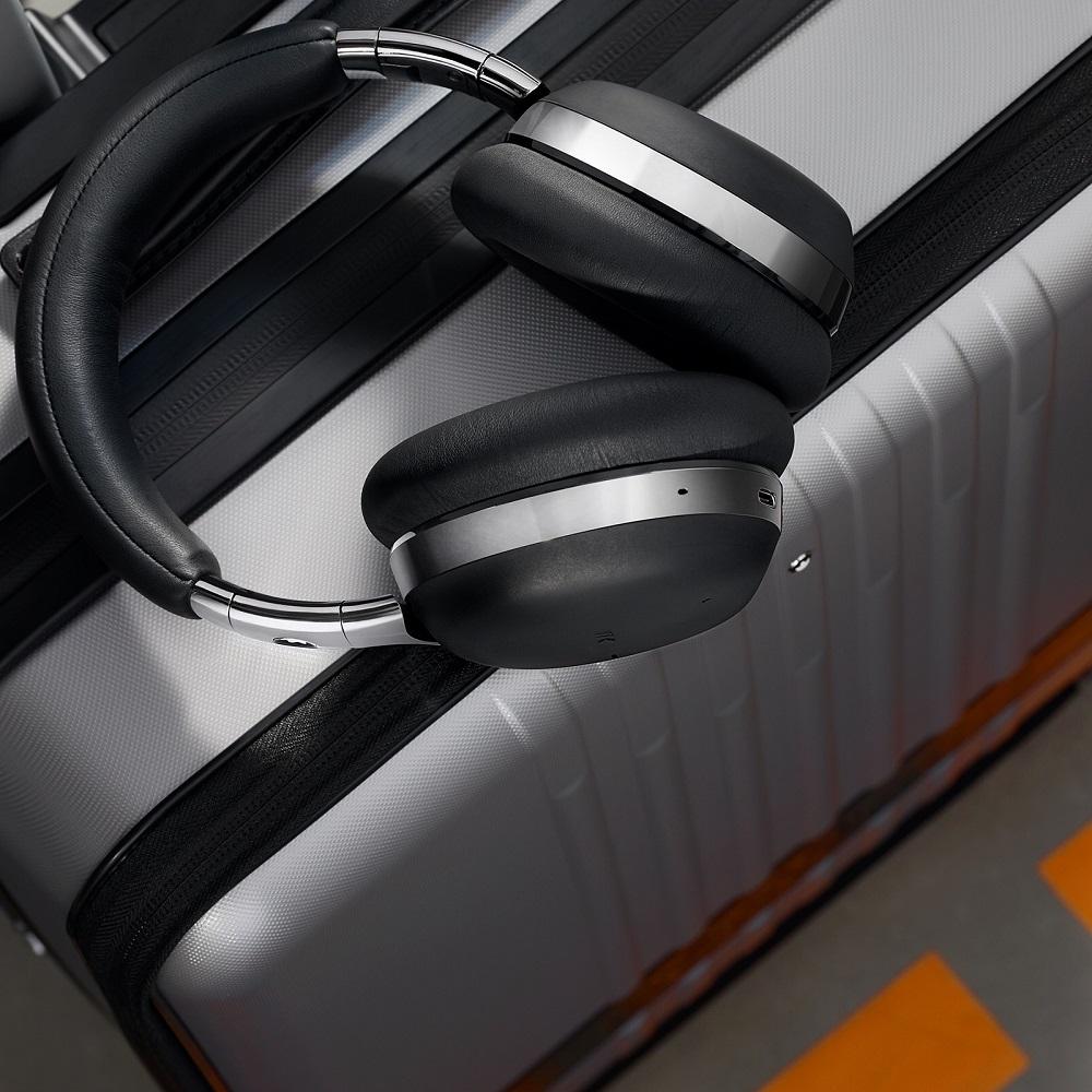 萬寶龍/MB01全罩式智能耳機/時尚耳機/抗噪高音質/長途飛行必備/金色款