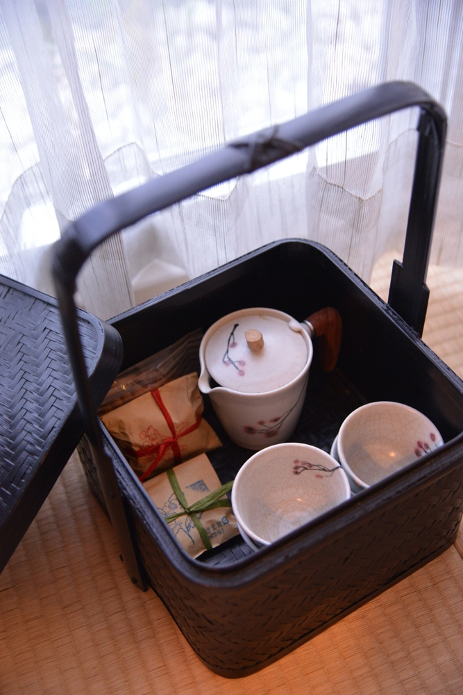 桃城茶樣子