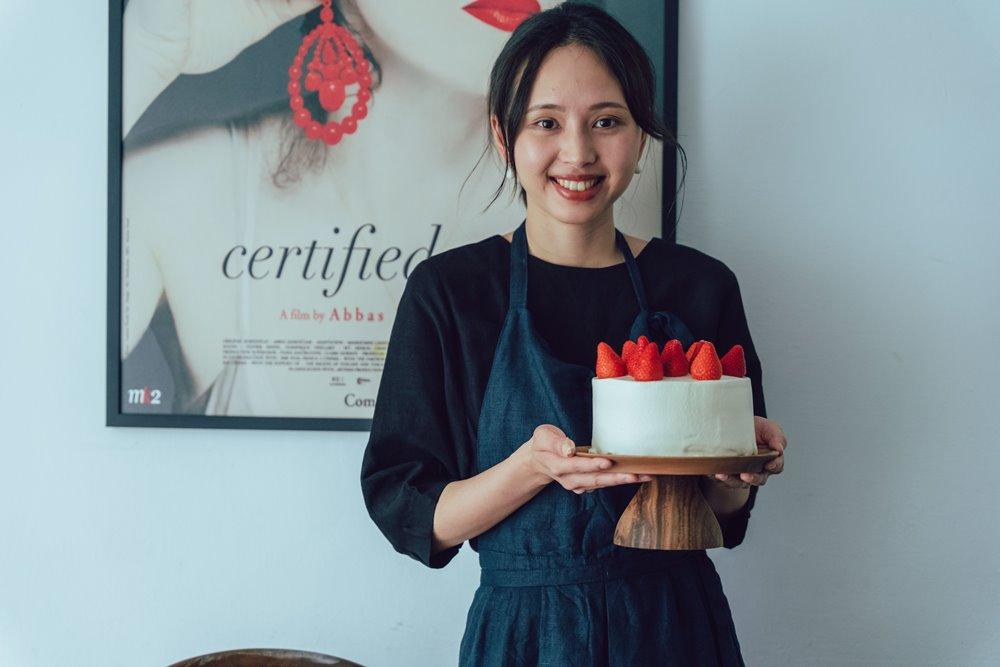 草莓鮮奶油蛋糕/甜點/昉小姐