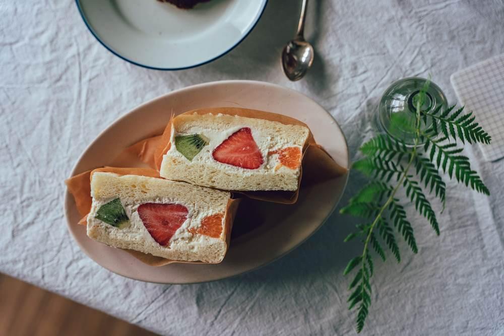 水果乳酪三明治/甜點/昉小姐