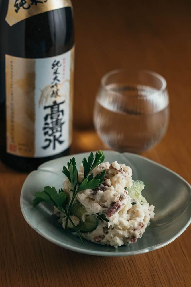馬鈴薯沙拉/比家的日式餐桌/比才/生活/美酒/美食/台北