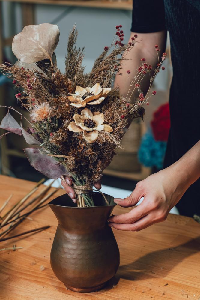 Carol 的教學/Floral Vintage/花藝風格店/台北/台灣