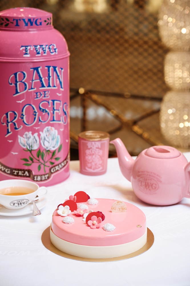 TWG TEA/母親節蛋糕/玫瑰芬香茶慕斯蛋糕