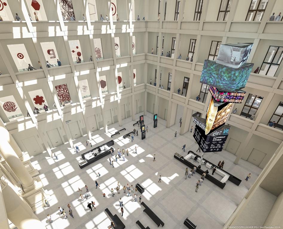 內部/Humboldt Forum/洪堡博物館/巴洛克式宮殿/博物館島/柏林