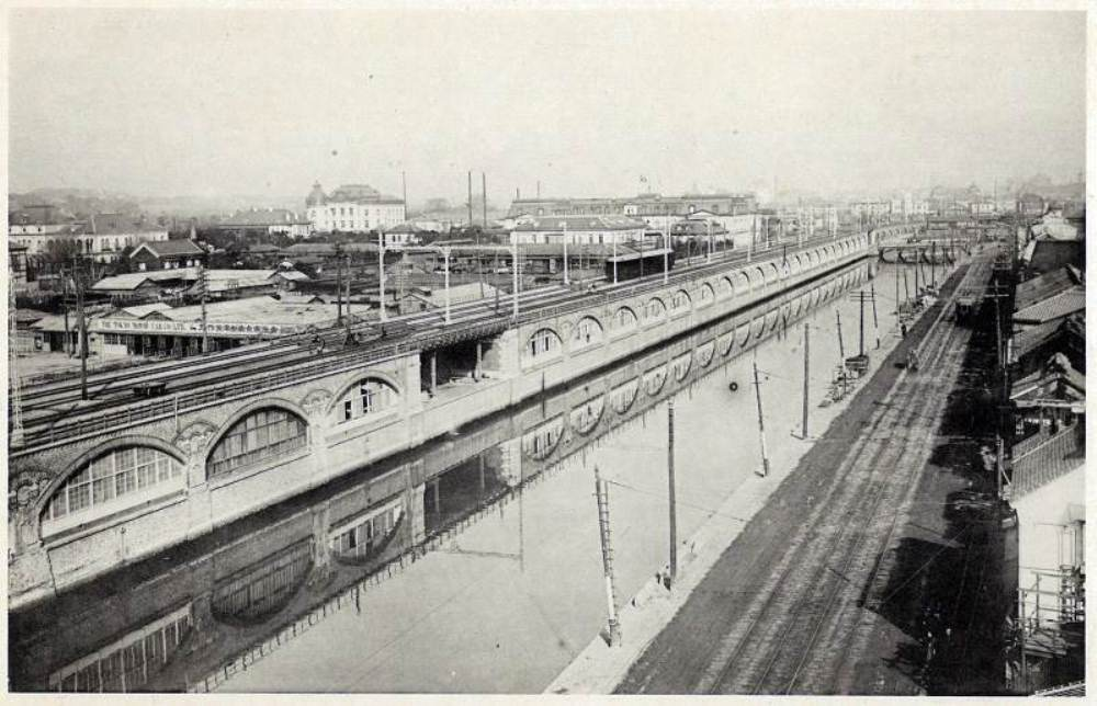 OKUROJI/紅磚拱橋/商城/古蹟/日比谷/東京/日本