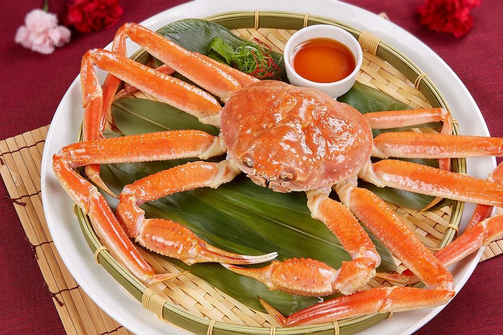 松葉蟹/國賓/美食/母親節