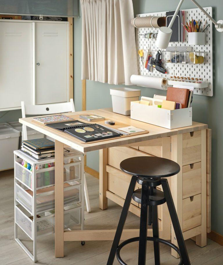 NORDEN摺疊桌/家具商品/IKEA