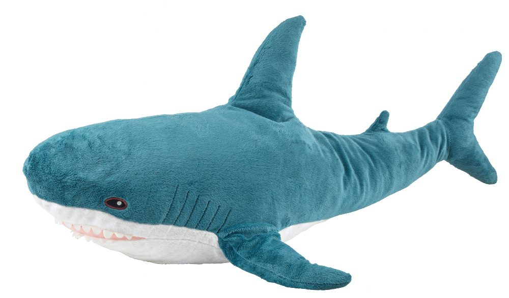 網紅BLÅHAJ鯊魚/家具商品/IKEA