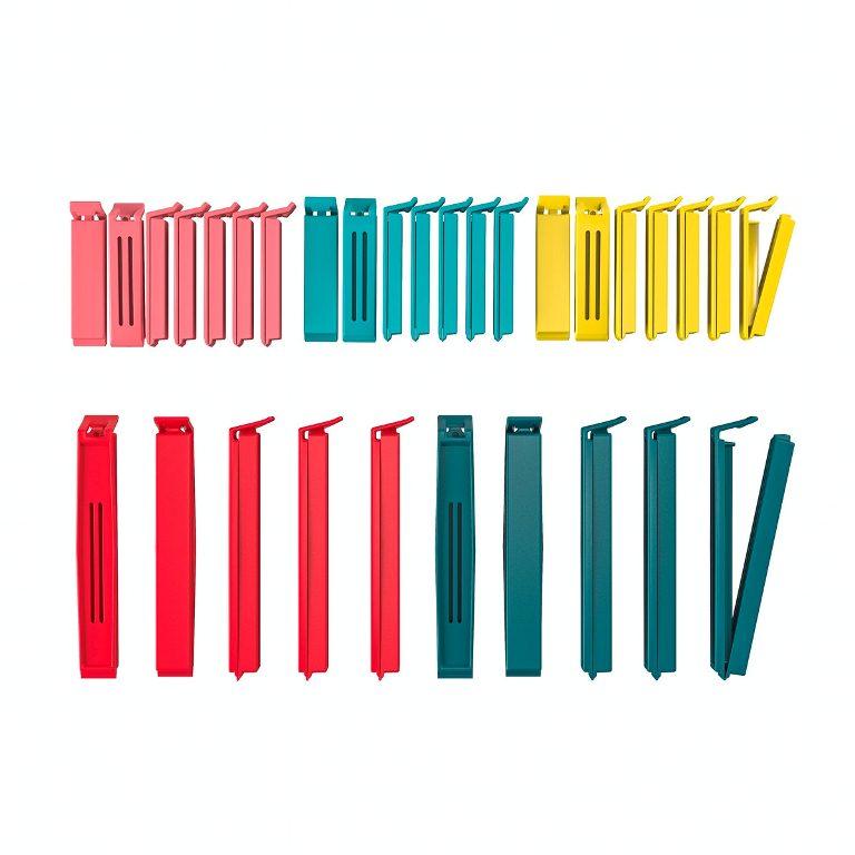 BEVARA袋子封口夾30件組/家具商品/IKEA