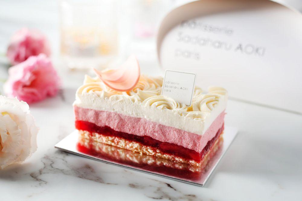 茹絲葵/經典牛排館/母親節活動/獨家青木定治草莓蛋糕