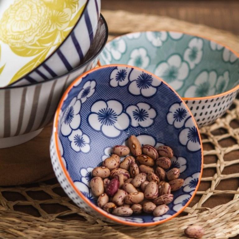 比利時 Pomax 艷花日和陶瓷碗 /瑪黑家居選物