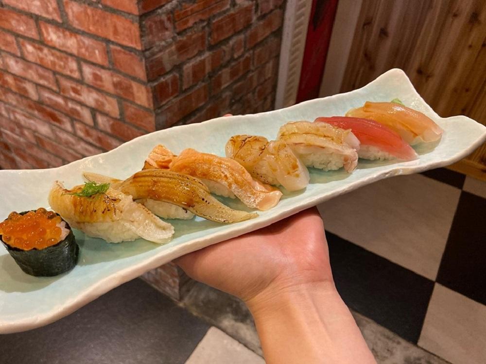 碰心蘿蔔/日本壽司料理/生魚片壽司/高雄美食/獨食餐廳